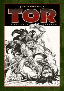 Joe Kubert's Tor Artist's Edition cover