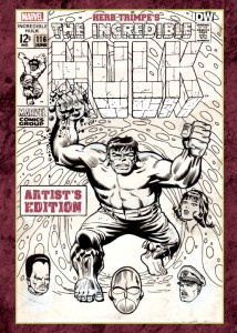 Herb Trimpe's The Incredible Hulk Artist's Edition cover