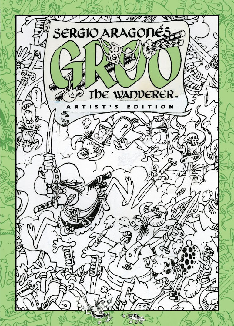 Review | Sergio Aragones Groo The Wanderer Artist's Edition