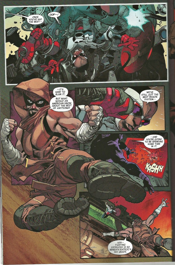 Batroc leaping all over the place
