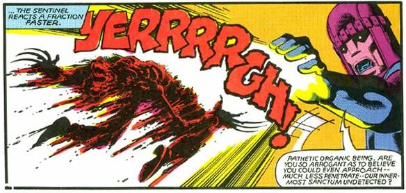 Classic Wolverine death