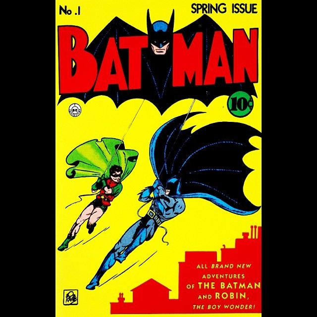 The first Batman cover