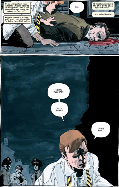Daredevil loses his father