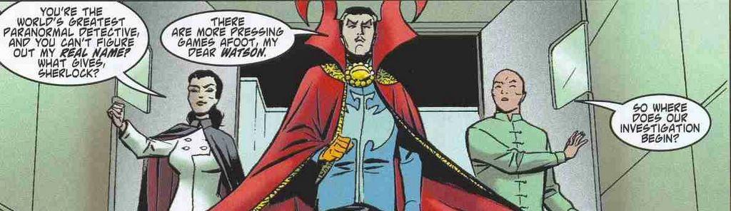Popular modern Doctor Strange stories