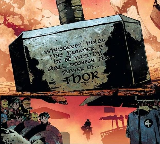 At least self-righting inscription enchantments and cross-franchise merchandising remain  strong in the post-apocalypse...