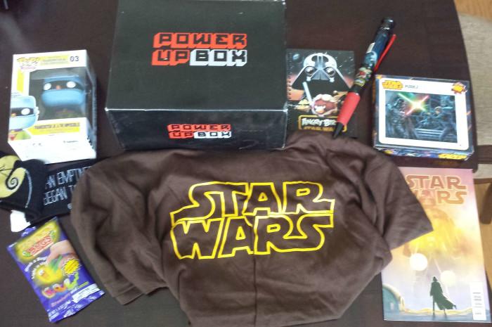 May 2015 Power Up Box Review