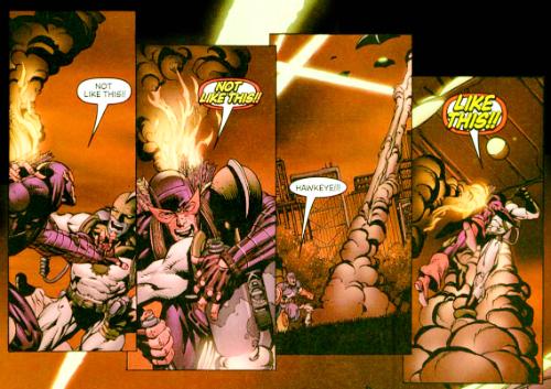 Hawkeye not like this
