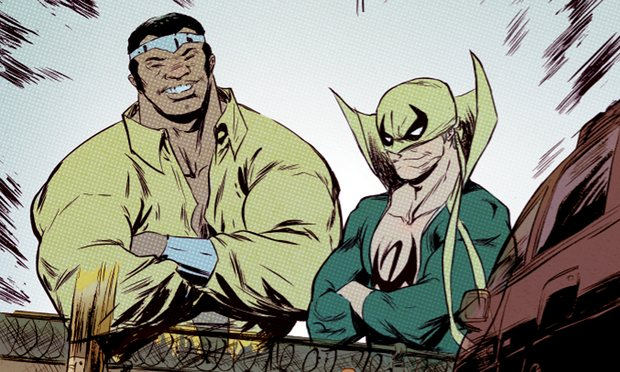 Danny Rand and Luke Cage