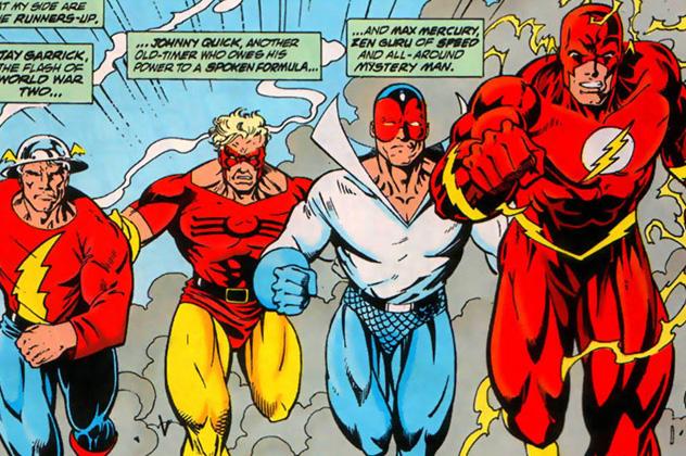 Mark Waid's 90's run on The Flash is a fan favorite