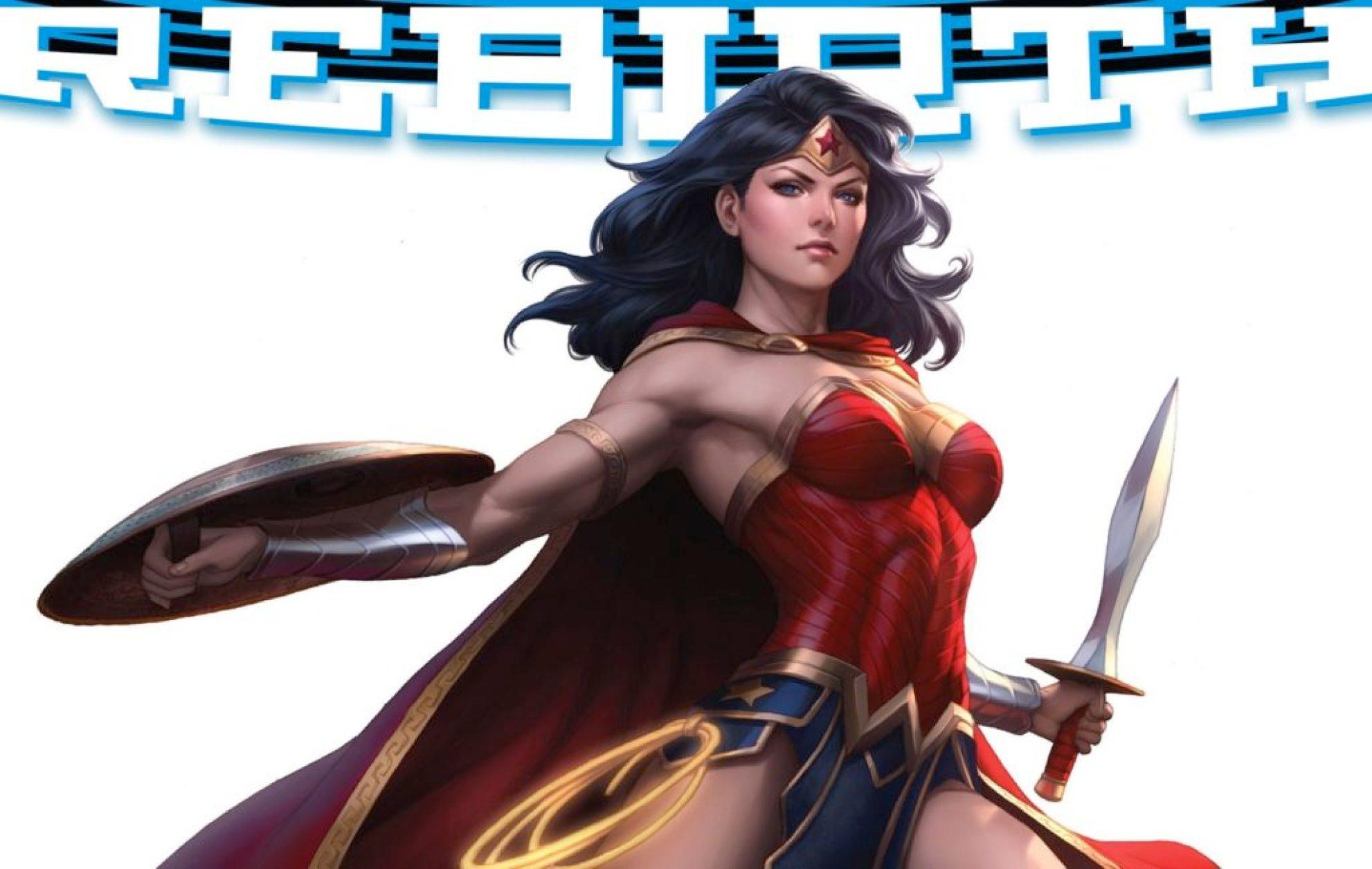 Wonder Woman Rebirth #1 from DC Comics
