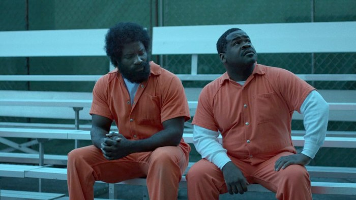 Luke Cage grows an insane afro and beard combo in prison