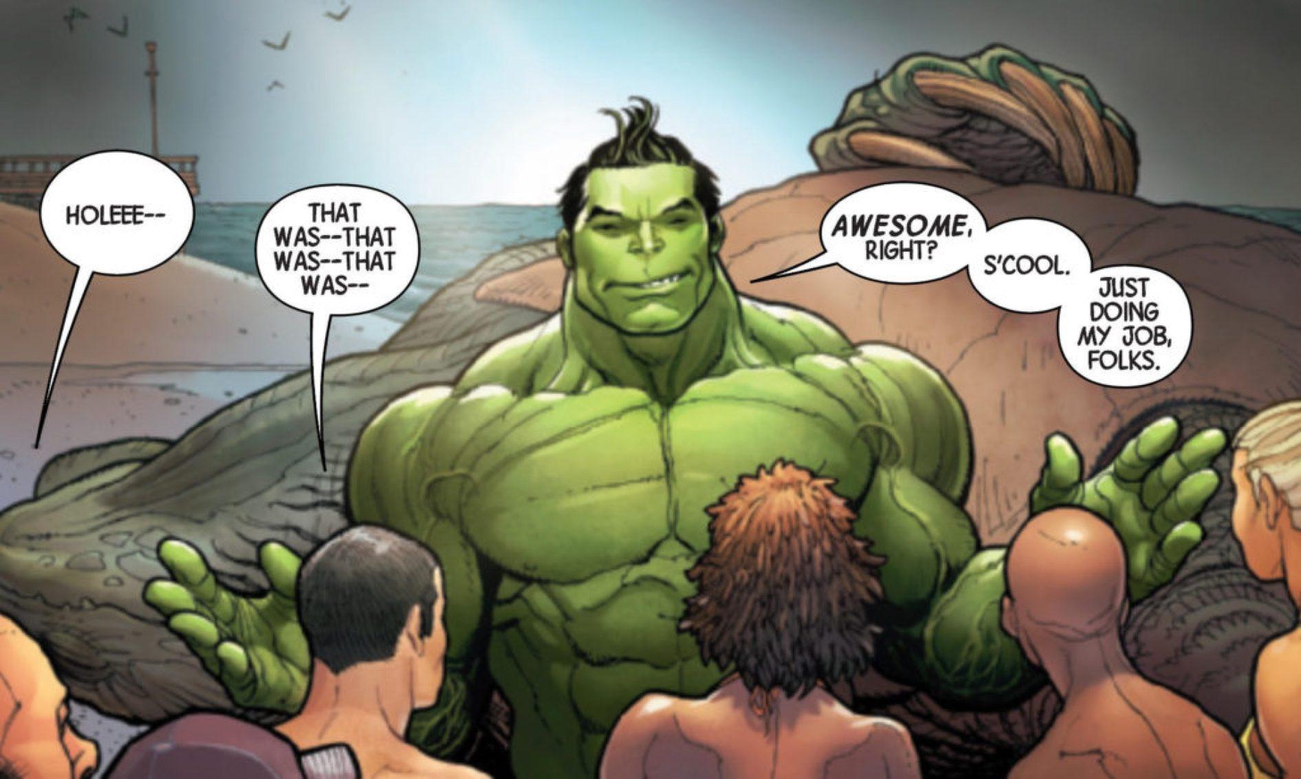 Greg Pak Awesome Hulk