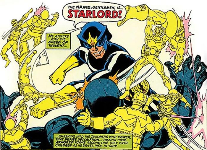 Original Star Lord Comics