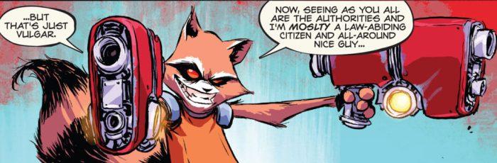 Rocket Raccoon Skottie Young