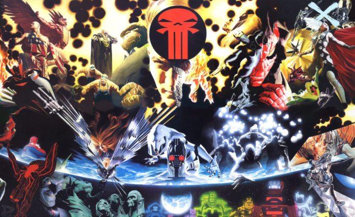 Marvel Comics Earth X Universe
