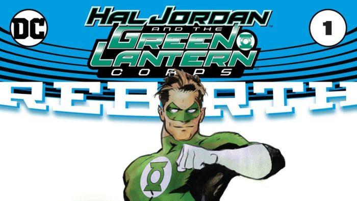 DC Rebirth Green Lantern Corps Comics