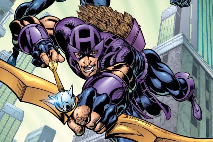 Hawkeye comics by Kurt Busiek