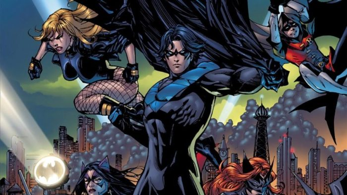 Nightwing in Batman Battle for the Cowl