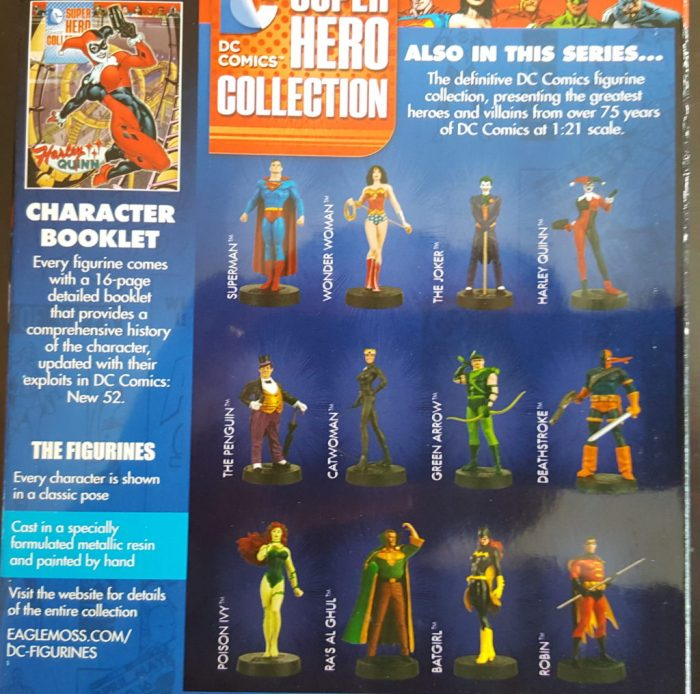 DC Super Hero Figurines