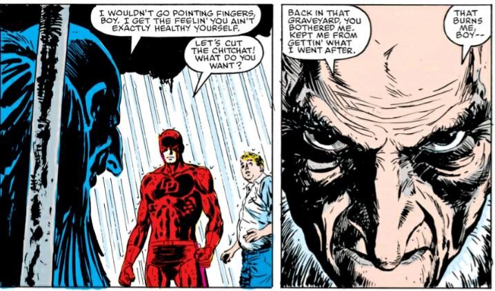 Vulture vs Daredevil