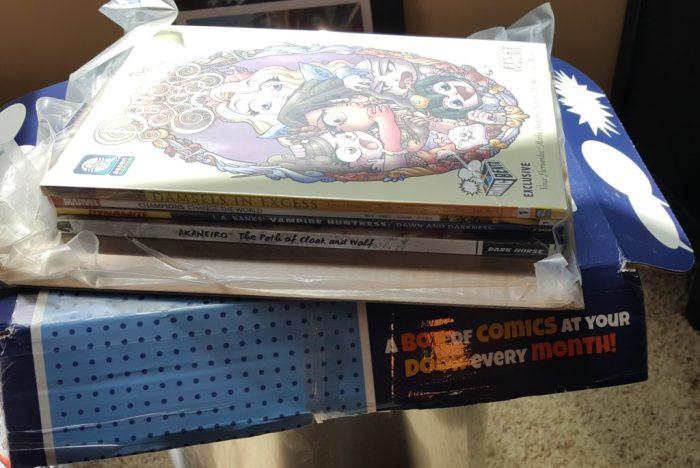 Comic Book Delivery Service Comic Bento