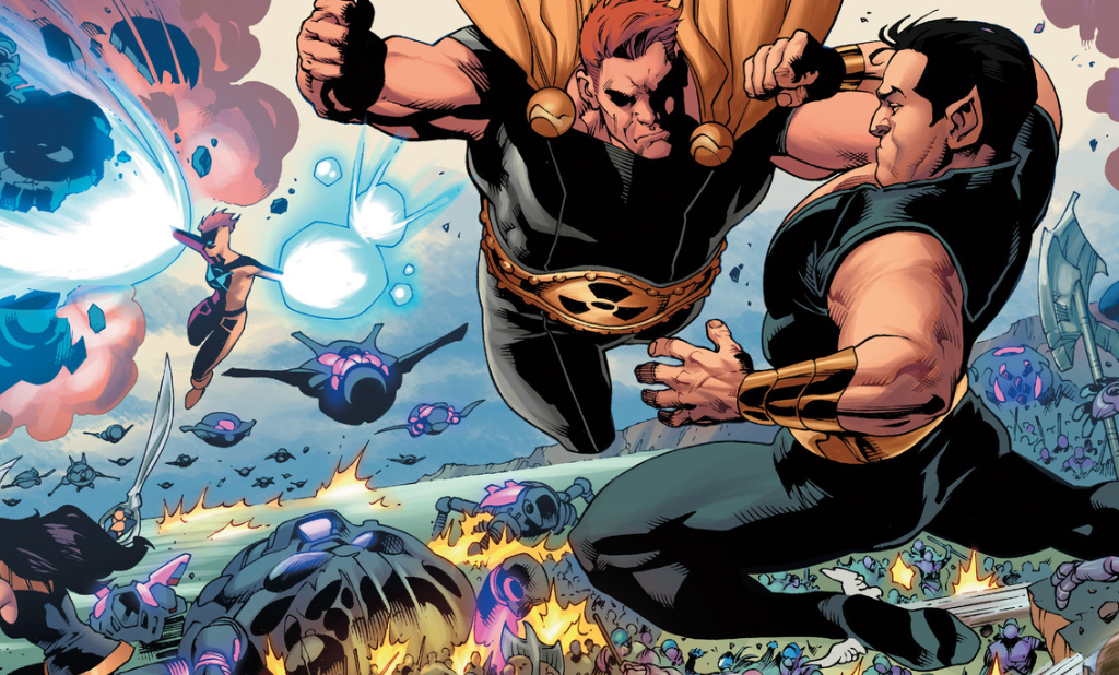 Squadron Supreme vs. Namor the submariner
