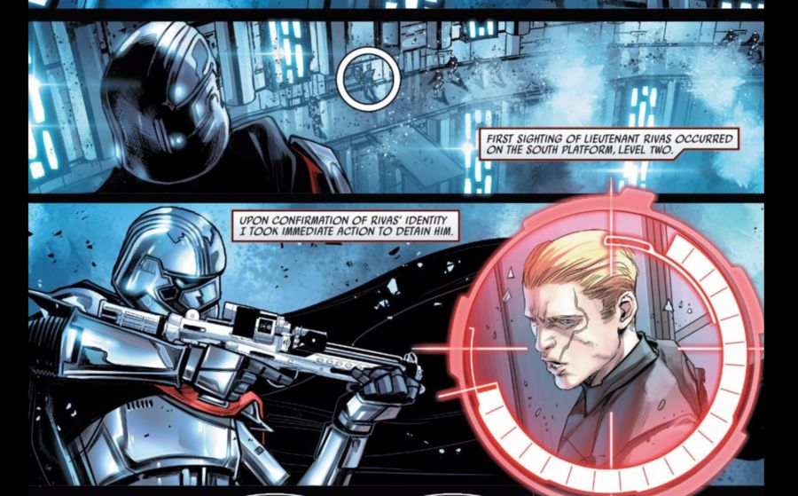 Captain Phasma in her own comic book!