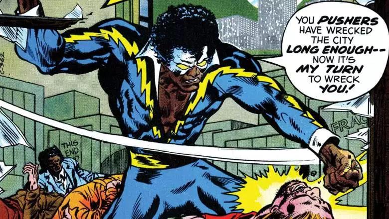 Black Lightning comic books