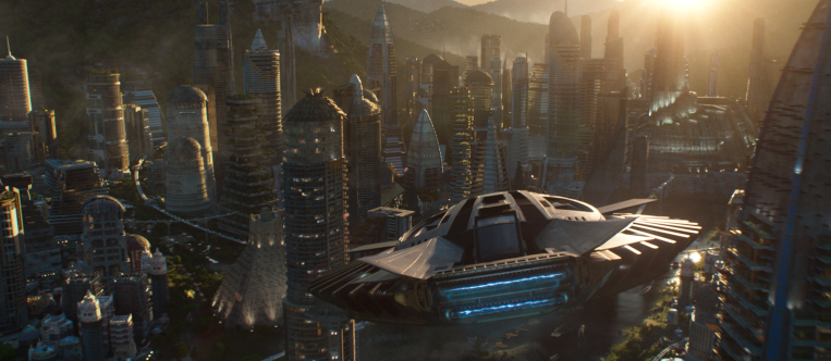View of Wakanda in Black Panther