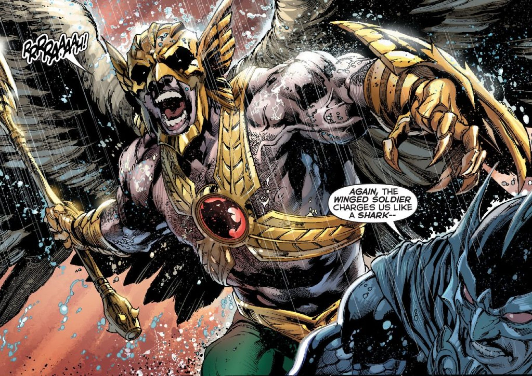 Savage Hawkman in DC's New 52