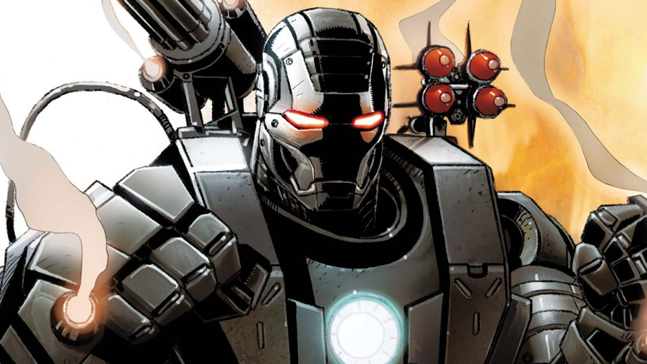 War Machine comic books