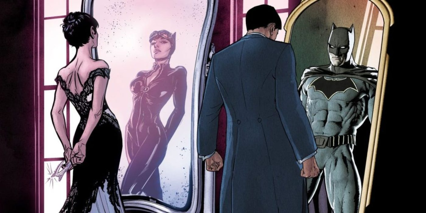 Batman and Catwoman plan for their wedding in DC Comics