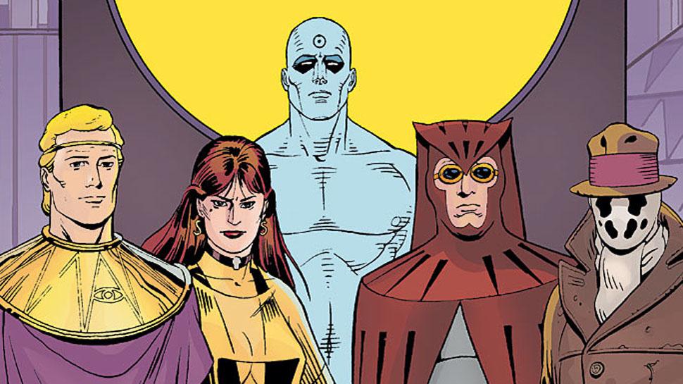 The Watchmen graphic novel