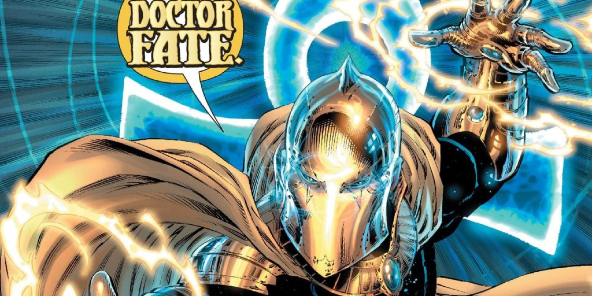 DC Comics Hector Hall as dr Fate