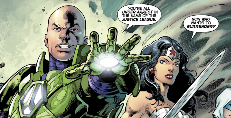 Lex Luthor in the New 52 comics