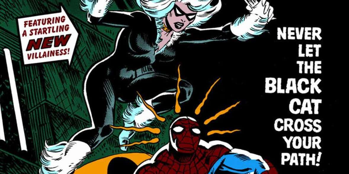 Marvel Comics' Black Cat debut in Spider-Man