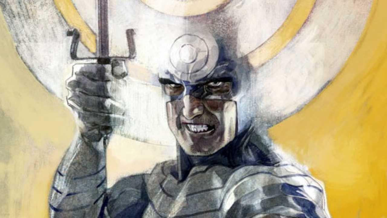 Maleev drawing Bullseye