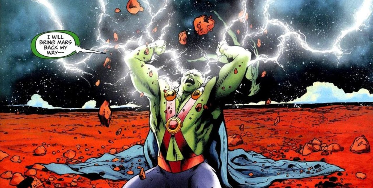 Martian Manhunter in DCs 2000s era comic books