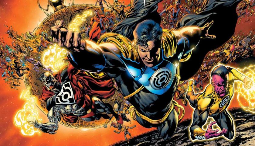Superman Prime in the Sinestro Corps War