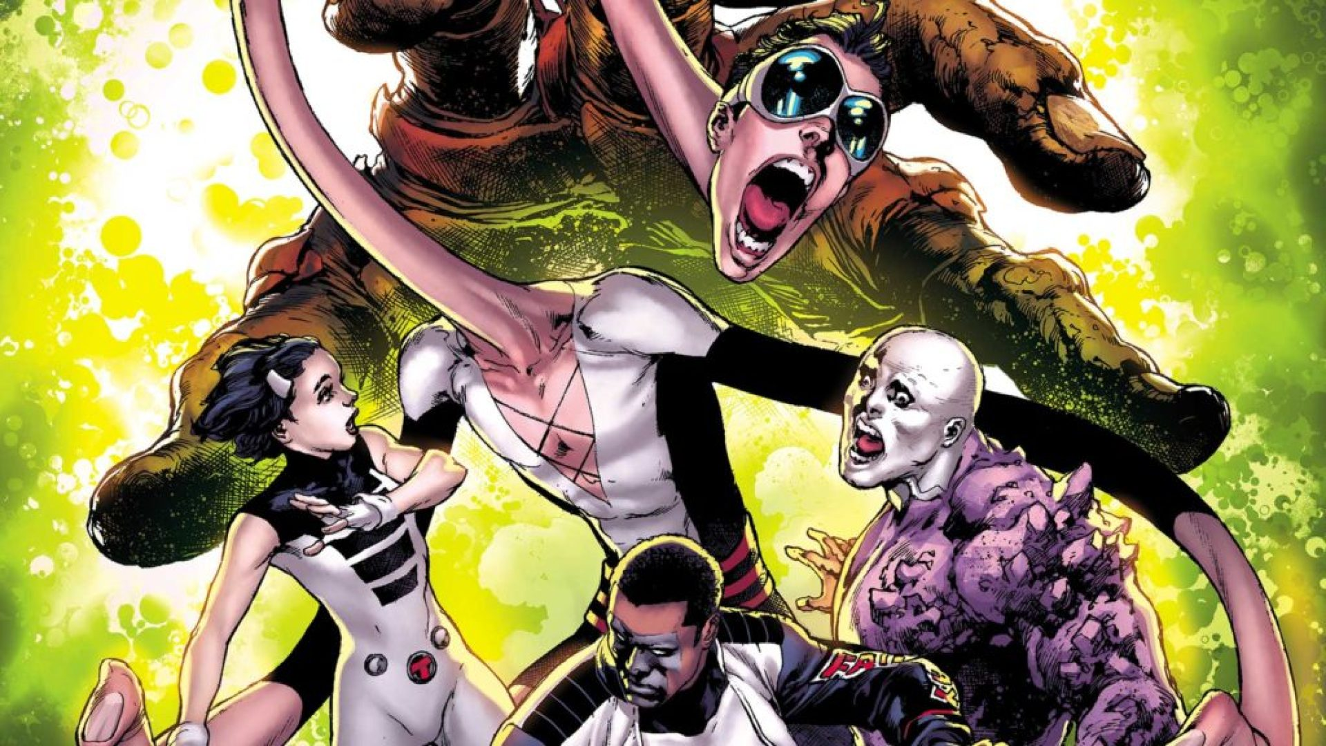 The Terrifics form in DC's New Age of Heroes