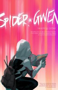 Spider-Gwen visual reading order