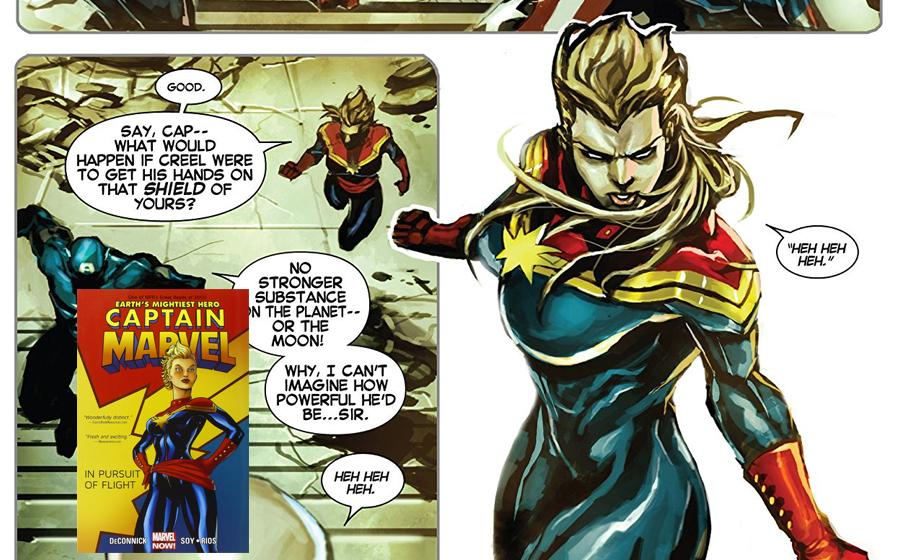Carol Danvers become Captain Marvel