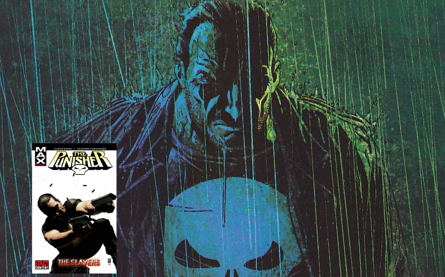 """Punisher in """"The Slavers"""" comic book story"""