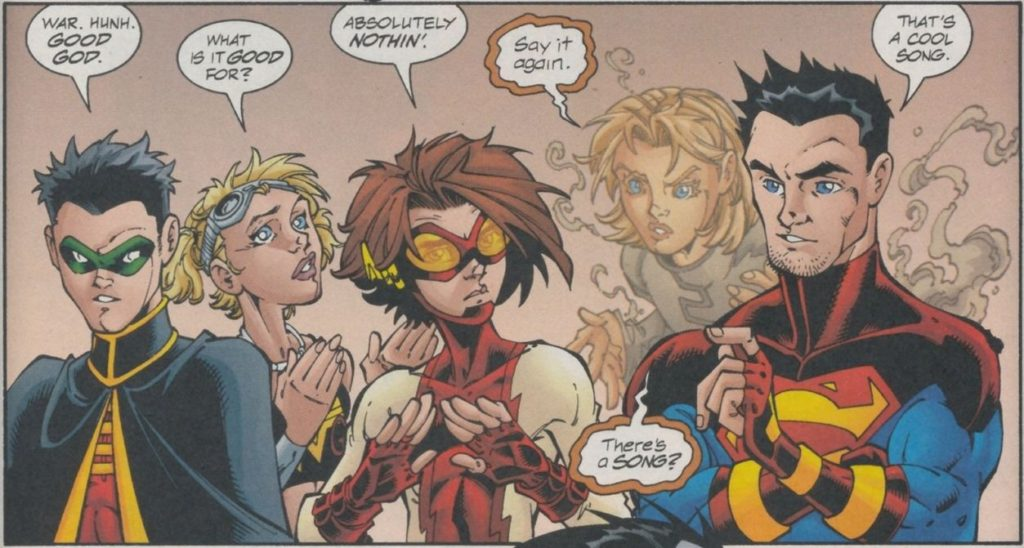 The Peter David written Young Justice comics