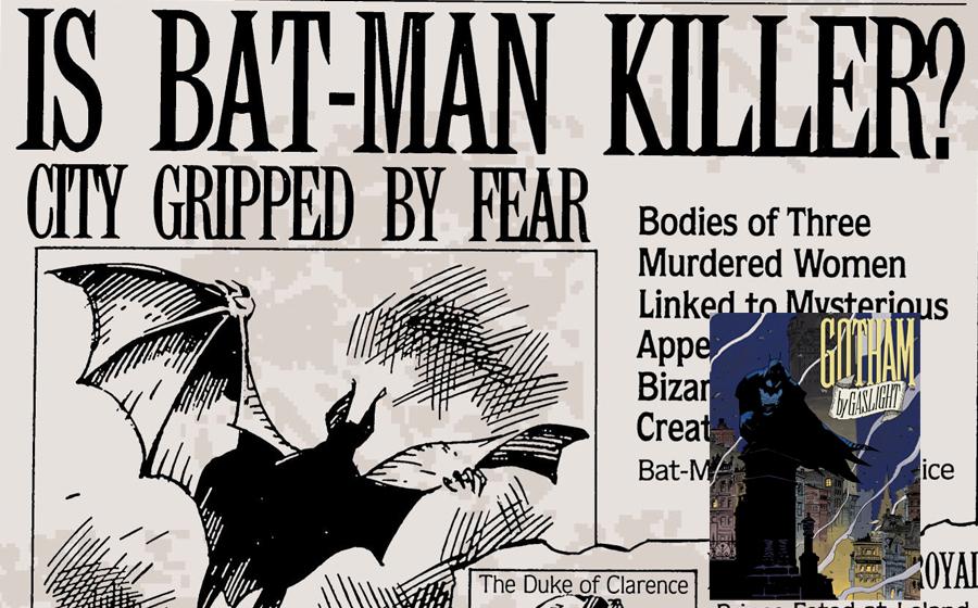 Batman in Gotham by Gaslight comics