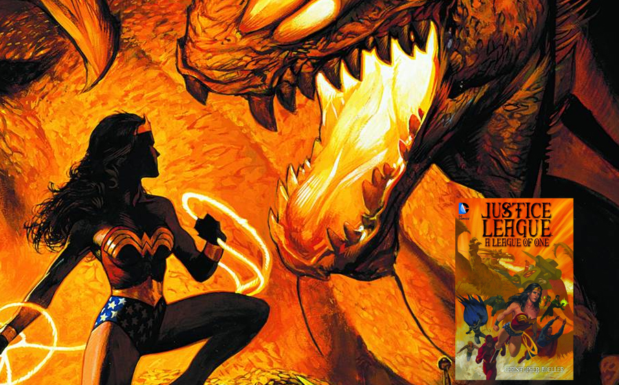 Wonder Woman in a League of One graphic novel
