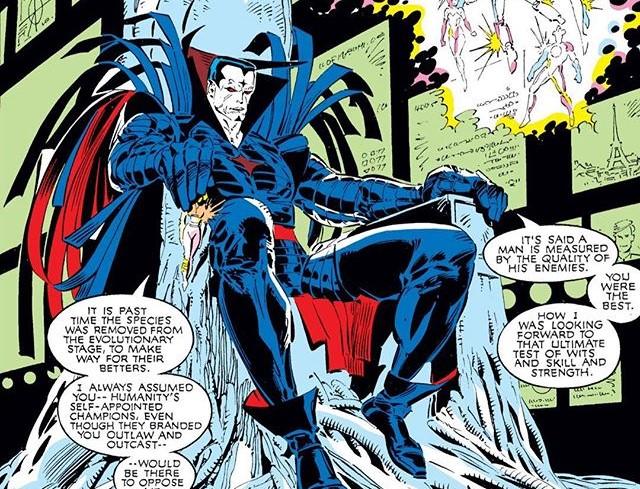 Mister Sinister in X-Men Comics