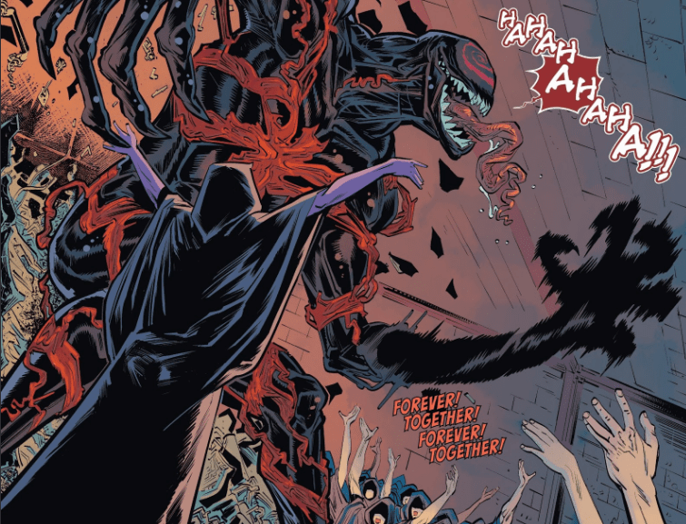 Carnage gains powers of Knull in pages of Venom comic