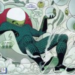Mysterio in Spider-Man comics by artist Marcos Martin