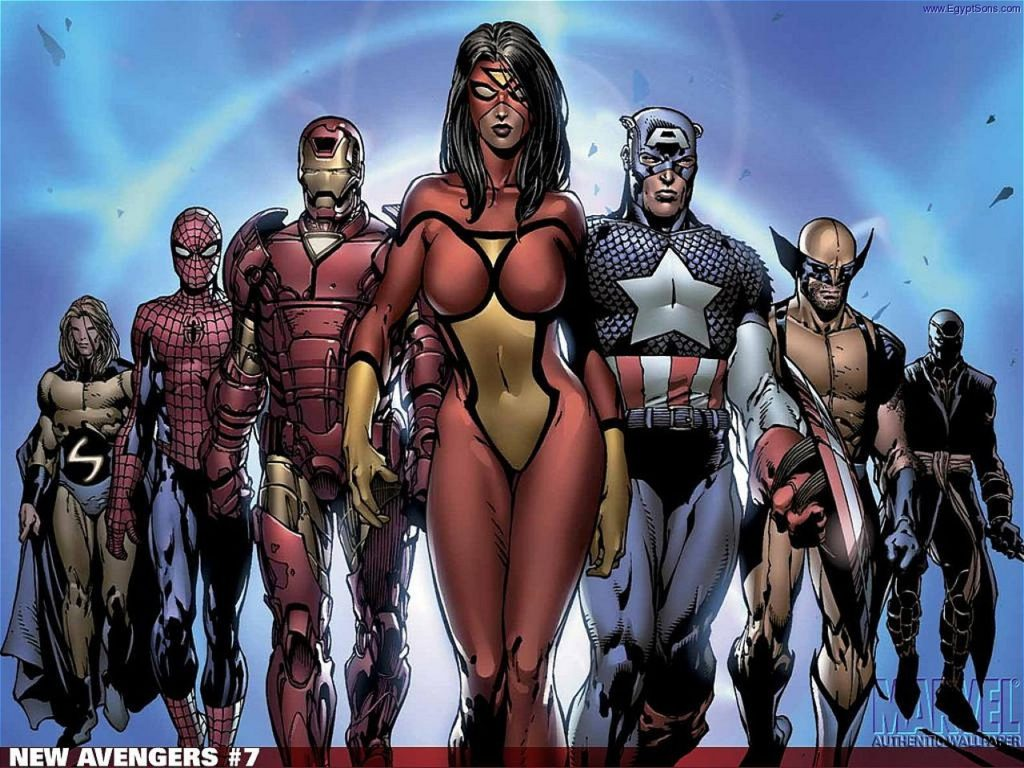Spider-Woman leads the New Avengers